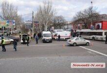 Photo of В Николаеве Range Rover протаранил «маршрутку» — много пострадавших, заблокировано движение по пр. Центральный (ВИДЕО)