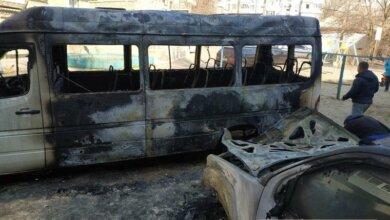 Photo of Ночью в Николаеве сгорели два автомобиля — подозревают поджог
