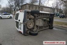 Photo of В Николаеве «Рено» перевернул «Фиат» и скрылся с места происшествия