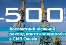 Photo of Порт «Ольвия» установил новый абсолютный рекорд грузооборота