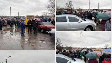 Photo of Жители Николаевщины на час ограничили движение по киевской трассе из-за абонплаты за транспортировку газа