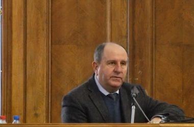 Василий Капацына на сессии горсовета