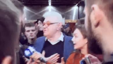 АТО-шники напали на Сивохо во время презентации платформы по примирению с Донбассом (видео)   Корабелов.ИНФО