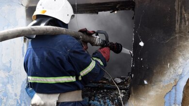Photo of В Николаеве во время пожара погиб мужчина (Видео)