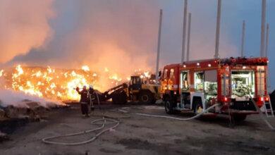 Photo of Спасатели всю ночь тушили масштабный пожар в Витовском районе (видео)