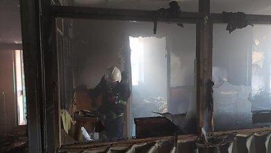 Photo of В Николаеве горел райотдел полиции – подозревают поджог