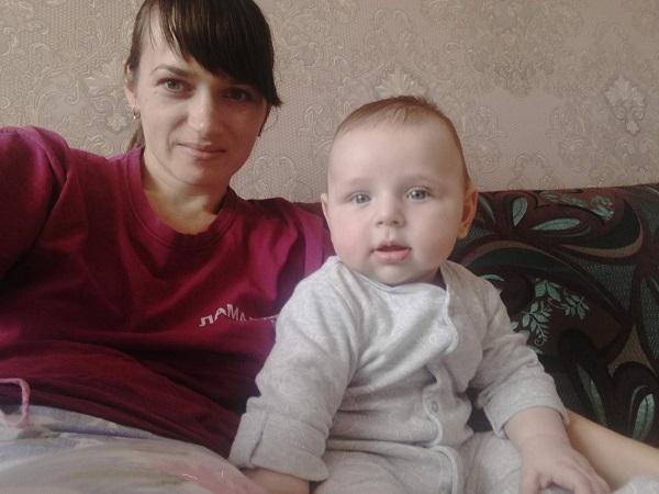 Игорь Василенко со своей мамой
