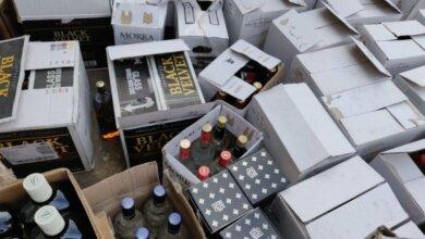 Photo of Перед 8 марта в Николаеве полиция конфисковала 1500 бутылок элитного алкоголя
