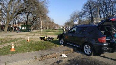 Photo of В Николаеве девушка на «БМВ» сбила мотоцикл: двое пострадавших