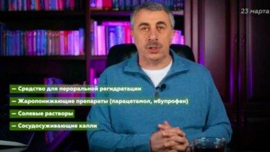 Photo of Доктор Комаровский рассказал, что сейчас должно быть в аптечке каждого украинца (видео)