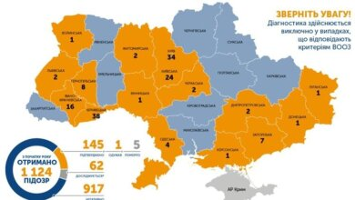 Число больных коронавирусом в Украине выросло до 145. Уже пять смертей | Корабелов.ИНФО