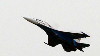 У оккупантов в Крыму рухнул в море истребитель Су-27 | Корабелов.ИНФО