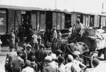 Photo of Вирвані з коренем. Переселенців до Вітовського району перевозили у вагонах для худоби