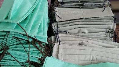 Для безкоштовного розповсюдження: волонтери в Галициново шиють захисні маски | Корабелов.ИНФО