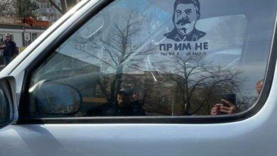 В Одессе произошла стычка между активистом и «любителями» Сталина | Корабелов.ИНФО