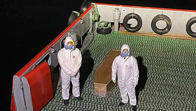 Photo of На НГЗ идет судно, капитан которого умер от коронавируса