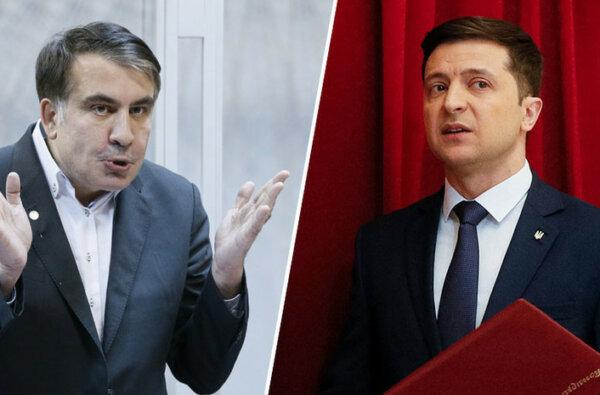 Зеленский предложил Саакашвили стать вице-премьером по реформам | Корабелов.ИНФО
