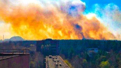 Пожар в Чернобыльской зоне: огонь подходит к хранилищам радиоактивных отходов. ВИДЕО | Корабелов.ИНФО
