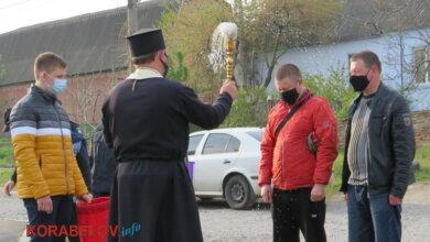 Пасха в карантин (19.04.2020), храм на ул. Торговой
