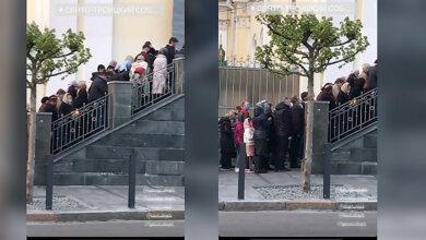 В Днепре прихожане Московского патриархата, игнорируя карантин, устроили «крестный ход» (видео)   Корабелов.ИНФО