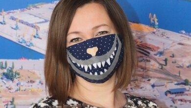 Photo of Серед портовиків в Корабельному районі провели конкурс на найкреативнішу захисну маску