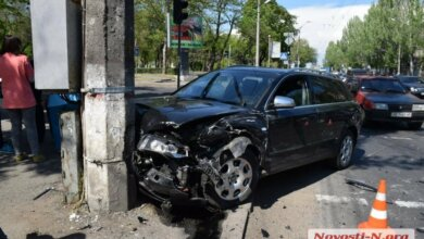 В Николаеве КИА врезалась в Ауди — двое пострадавших | Корабелов.ИНФО image 2