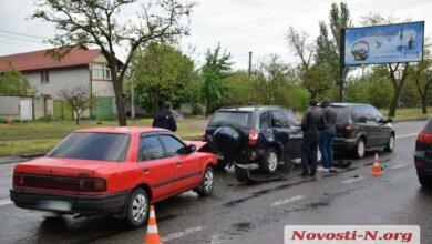 Photo of В Корабельном районе в двух ДТП столкнулись 6 авто: огромная пробка