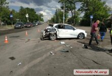Photo of В Николаеве грузовик протаранил «Фольксваген» — водитель «фуры» уснул
