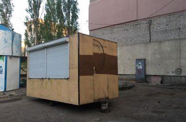 МАФ на ул. Ольжича