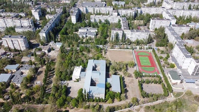 школа №48 с высоты птичьего полета
