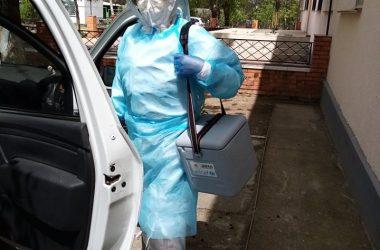 Галицыново: выезд мобильной бригады к контактным с больным коронавирусом