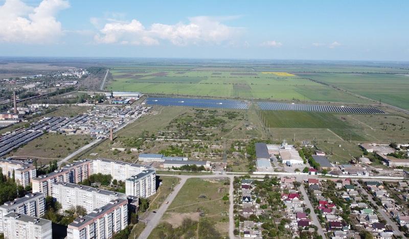солнечная электростанция в Корабельном районе