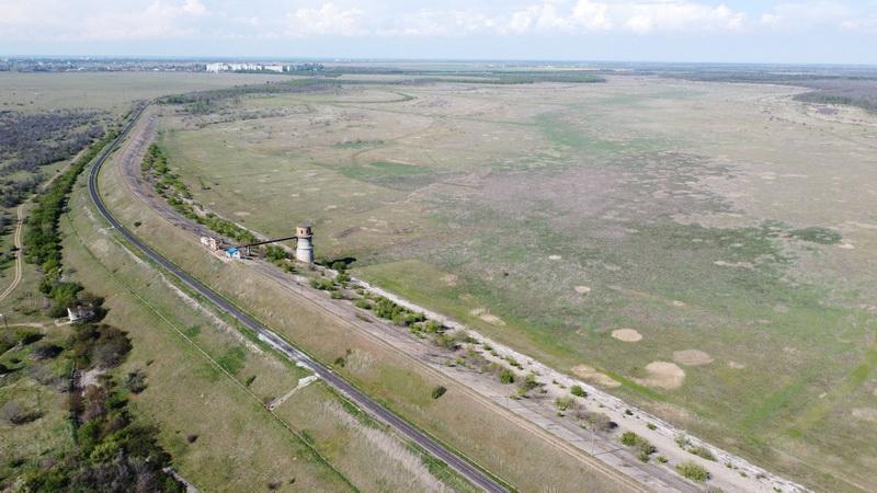 территория водохранилища в Кульбакино