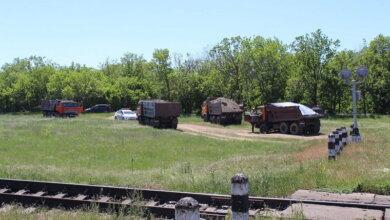 вывоз КАМАЗами грунта с водохранилища в Кульбакино