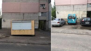 возле ул. Ольжича, 3-г в Николаеве