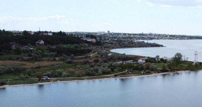 май-2020, маяк в Корабельном районе