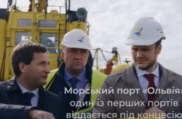 """Владислав Криклий в порту """"Ольвия"""""""