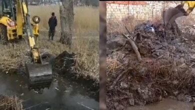 прочищено русло речки Витовка в Корабельном районе г. Николаева