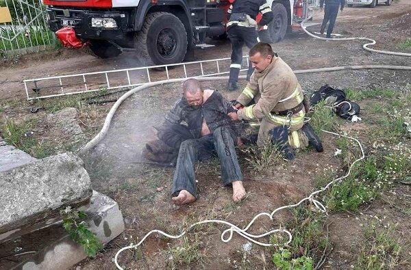 В Корабельном районе бездомный устроил пожар в коллекторе теплотрассы | Корабелов.ИНФО image 2