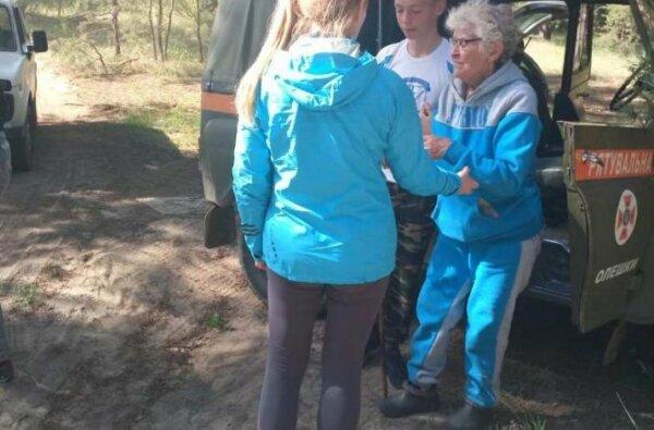 Масштабные поиски: в Олешковских лесах потерялась пенсионерка из Николаева   Корабелов.ИНФО