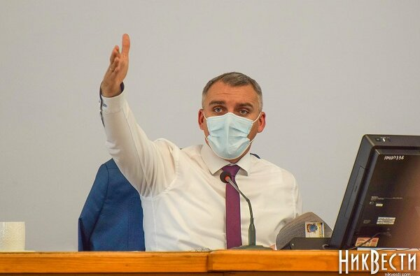 Сенкевич решил не пускать на сессии горсовета николаевцев без результатов теста на COVID-19 (Видео) | Корабелов.ИНФО