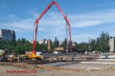 """строительство новой """"инфекционки"""" в Корабельном районе г. Николаева"""
