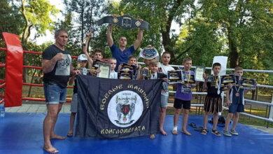 Photo of «Короли Ринга» привезли в Николаев 9 золотых медалей и 2 чемпионских пояса