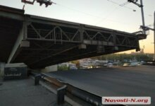 Photo of В Николаеве ночью самопроизвольно развелся мост через Ингул (видео)