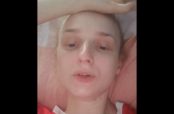 Александра Казакова в больнице