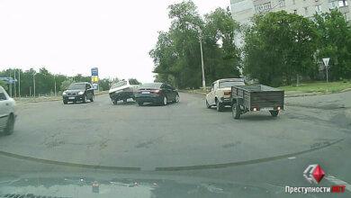 Появилось видео ДТП, в которое попал начальник полиции Николаевской области | Корабелов.ИНФО