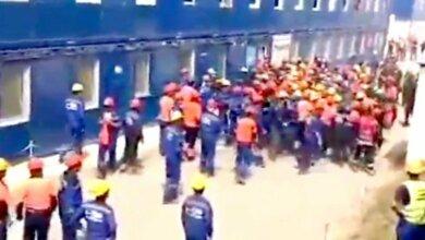 Photo of На заводе «Газпрома» вспыхнул бунт рабочих, силовикам пришлось бежать. ВИДЕО