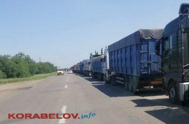 въезд в Николаев со стороны с. Галицыново 07.07.2020
