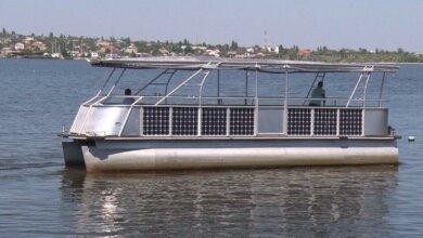 Photo of В Николаеве собрали речной трамвайчик на солнечных батареях