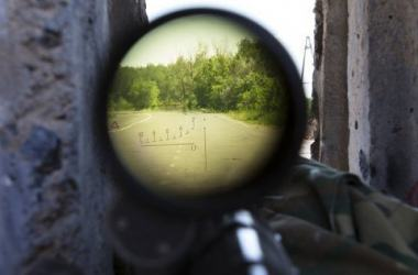 Снайпер боевиков сдался Вооруженным силам Украины | Корабелов.ИНФО